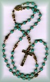 Turquois rosary